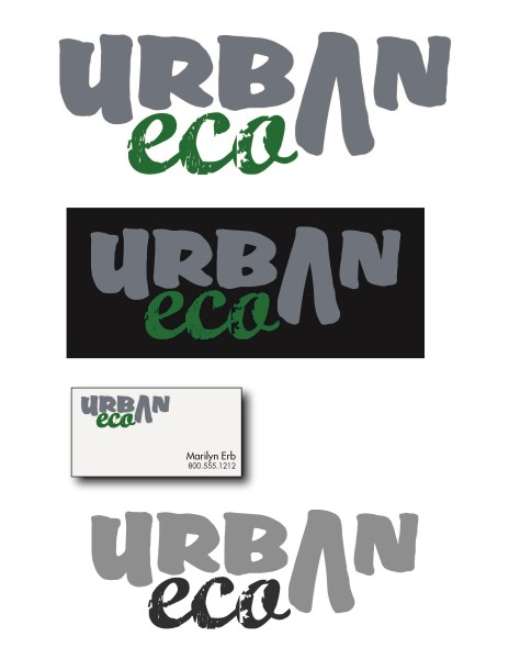 Urban Eco - Logo - February 2013