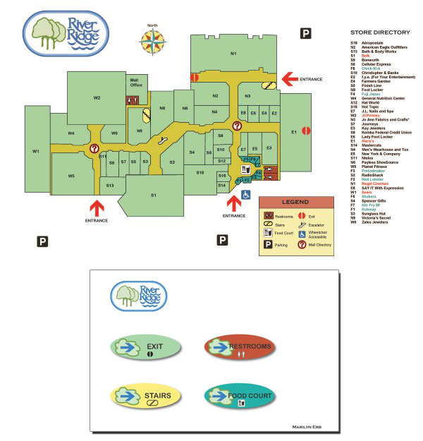 Wayfinding Map & Signage - January 2013